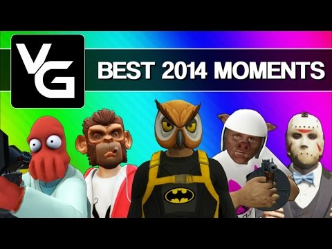 Vanoss Gaming Funny Moments - Best Moments of 2014 (Gmod, GTA 5, Skate 3, & More!)