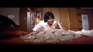 Aindritha offer 50 Crores to Prajwal deal with Case | Comedy Scenes of Nannavanu Kannada Movie