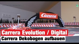 Carrera Rennbahn Tagebuch - #12 - Carrera Deko Bogen mit LED