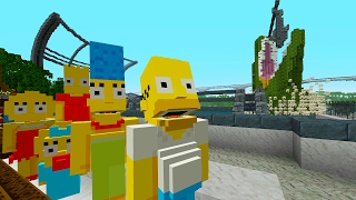 The Simpsons Go to Jurassic World   The Simpsons   Minecraft Xbox [19]