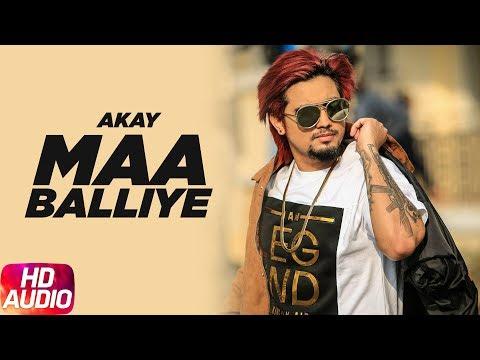 Maa Balliye | Audio Song | A Kay Feat. Deep Jandu | Full Punjabi Song 2018 | Speed Records
