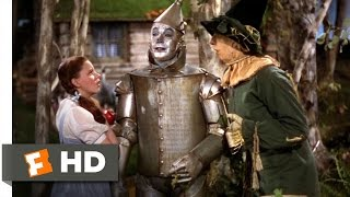 The Wizard of Oz (5/8) Movie CLIP - Finding The Tin Man (1939) HD