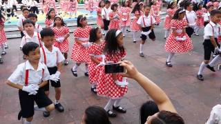 Aaliyah Aishah in her build me up buttercup dance