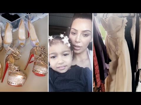 Kim Kardashian s Ten Million Dollar Closet Tour 2017 Full Video