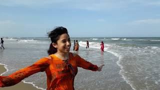 Visit to Paradise beach, Pondicherry