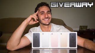 ► Te Regalo 5 IPhone 7 | Sorteo Internacional | Giveaway