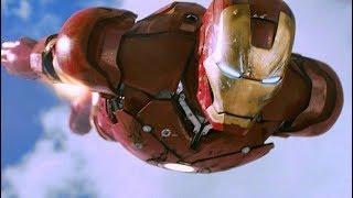 Iron Man vs F-22 Raptor - Dogfight Scene - Iron Man (2008) Movie CLIP HD