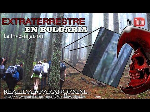 LA VERDAD Extraterrestre fotografiado en un bosque de Bulgaria OxlackCastro
