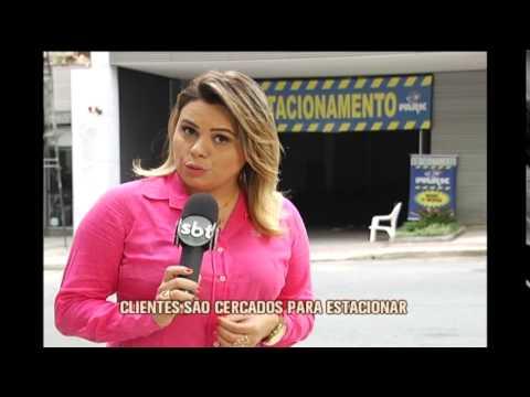 Estacionamentos fazem publicidade irregular em Belo Horizonte