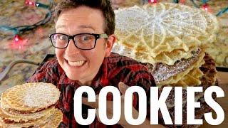 Easy Vegan Pizzelle Cookie Recipe w/ The Sexy Vegan