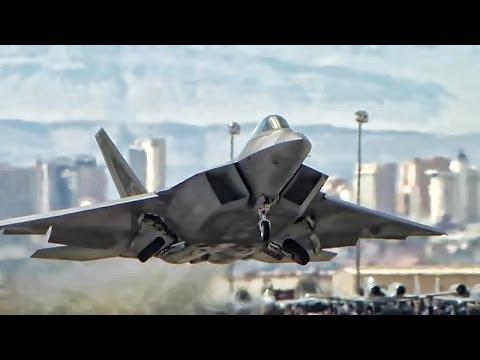 F-22 Raptor Stealth Tactical Fighter •