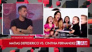 INFORME: Matías Defederico vs Cinthia Fernández