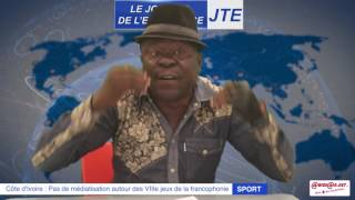 JTE : Jeux de la Francophonie:  Gbi de Fer dénonce une gestion clanique