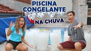 DESAFIO DA PISCINA CONGELANTE 2 - EXTREMO! - KIDS FUN