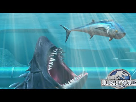 Jurassic World The Game: Megalodon - The Aquatic Shark