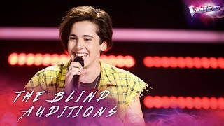 Aydan Calafiore sings Despacito | The Voice Australia 2018