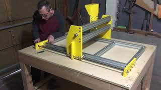 Assembling The Highline CNC Routing Machine
