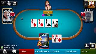 All In 2M , Texas Holdem Luxy Poker