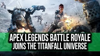 TITANFALL enters the BATTLE ROYALE arena with APEX LEGENDS