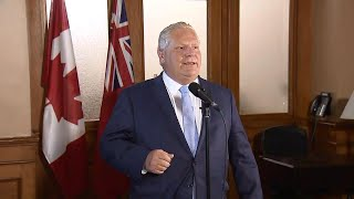 'A great day for Ontario' Doug Ford comments on Hydro One CEO's retirement