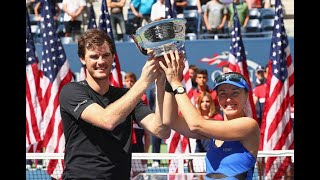 2017 US Open: Jamie Murray and Martina Hingis Championship Press Conference