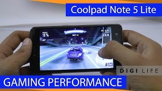 Coolpad Note 5 Lite Gaming Performance | Digi Life