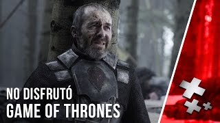 Stephen Dillane (Stannis Baratheon) no disfrutó ser parte de Game of Thrones