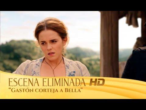 La Bella y la Bestia Escena eliminada Gastón corteja a Bella HD