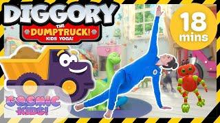 Diggory the Dumptruck | A Cosmic Kids Yoga Adventure!
