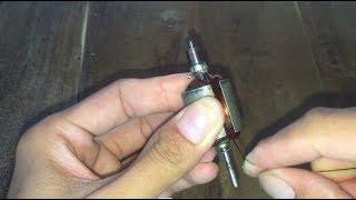 how to rewinding a broken 775  motor