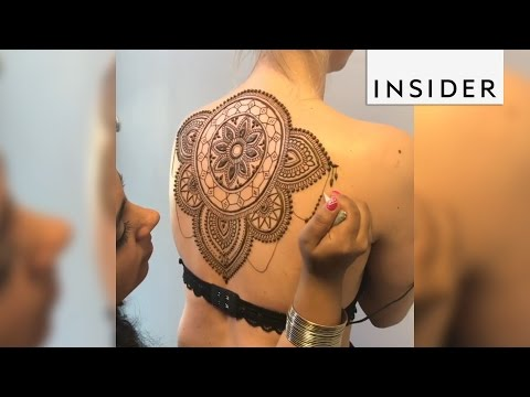 Xxx Mp4 Henna Artist Uses The Human Body As A Canvas For Incredibly Detailed Designs 3gp Sex