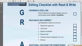 GRADES And Read&Write