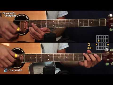 Me Enamore Anthony Santos Cover Tutorial Guitarra