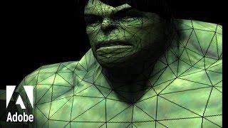 Photoshop - 3D Menu - Create Painting Overlay