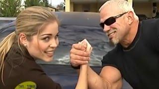 Scott Steiner flirts with interviewer