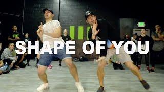 """SHAPE OF YOU"" - Ed Sheeran Dance | @MattSteffanina @PhillipChbeeb Choreography"