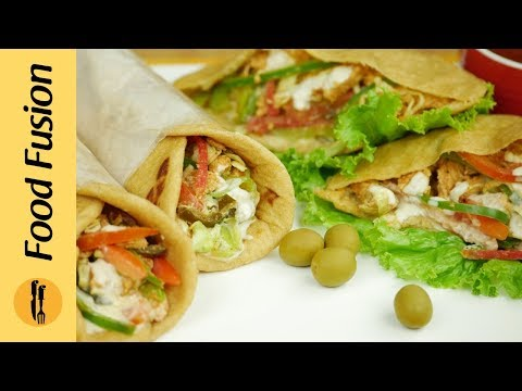 Xxx Mp4 Chicken Shawarma Home Made Chicken Shawarma Recipe By Food Fusion 3gp Sex