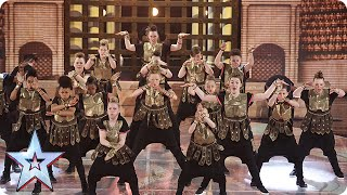 Entity Allstars are on the war path | Grand Final | Britain's Got Talent 2015