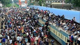 Bangladesh: Eid holidaymakers start leaving Dhaka en masse