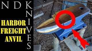 HARBOR FREIGHT ANVIL!!! Is it horrible?