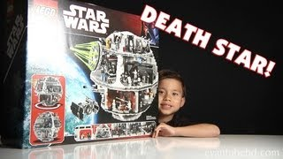 LEGO DEATH STAR Set 10188 Unboxing by EvanTubeHD - 1080p High Definition!