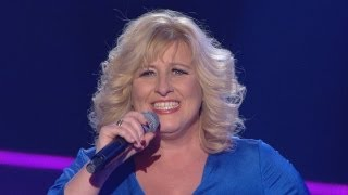 Barbara Bryceland performs 'Wild Horses' - The Voice UK - Blind Auditions 2 - BBC One