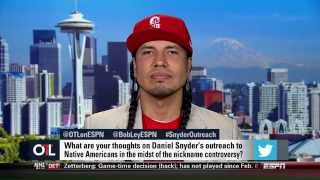 ESPN Outside the Lines Redskins Debate w/ Gyasi Ross and Dave Zirin