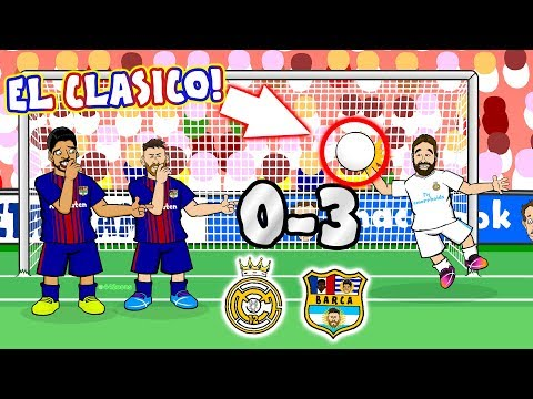 Xxx Mp4 😲0 3 El Clasico 2017 😲 Real Madrid Vs Barcelona Parody Goals And Highlights Song 3gp Sex