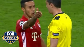 Referee controversy overshadows Real Madrid's win against Bayern Munich | FOX SOCCER