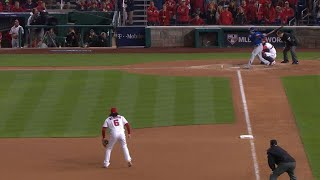 CHC@WSH Gm5: Russell plates two on a double to left