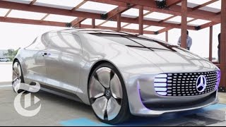 Ride in Mercedes's F 015 Driverless Car | Molly Wood | The New York Times