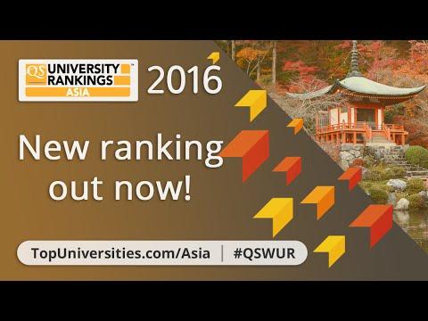 The Top 10 Universities in Asia 2016