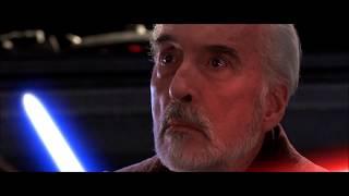 Obi-Wan Kenobi and Anakin Skywalker vs Count Dooku - Revenge of the Sith (re-cut).