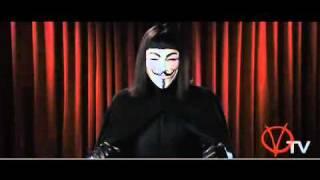 V for Vendetta TV-Ansprache deutsch